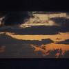 Sunrise offshore from Rarotonga.
