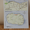 A map of Rarotonga from our cruise schedule for the day. These islands were first charted by Capt. James Cook in 1770.