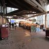 Open market at Place du Vieux Marche.