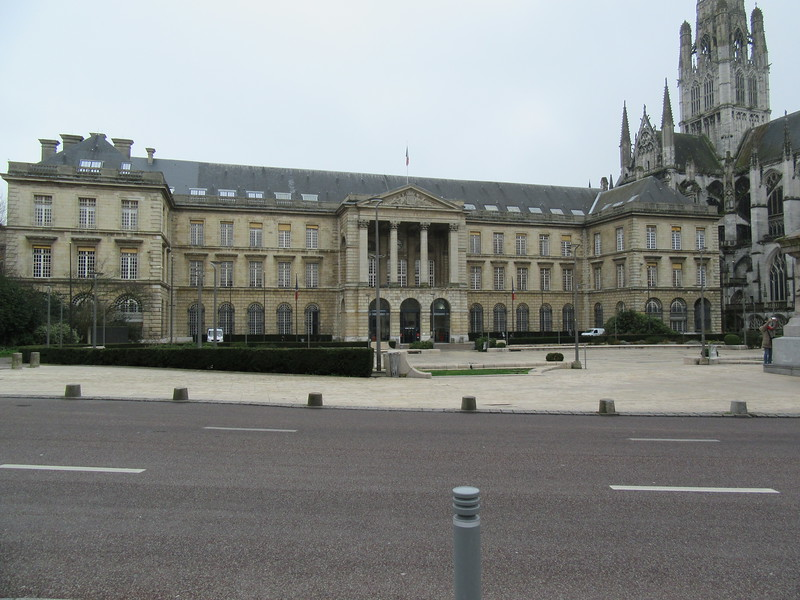 Hotel de Ville, Rouen.