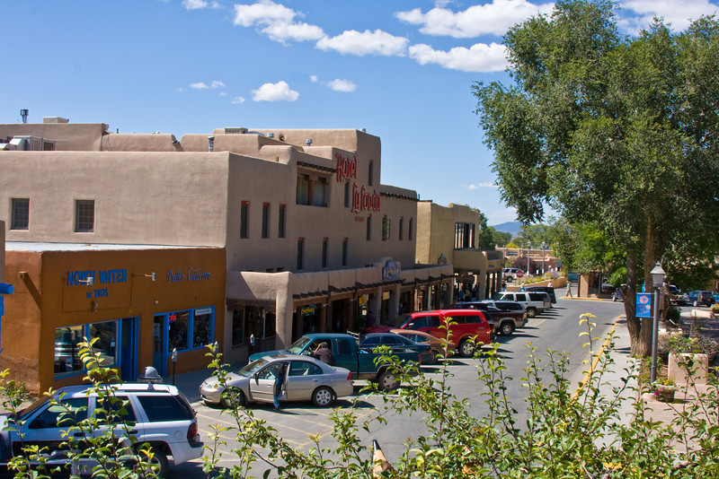 Taos Plaza-Taos New Mexico