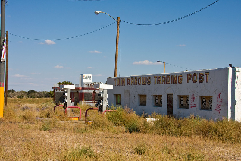 I think this is the Twin Arrows Trading Post-New Mexico