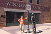 """Standin' On The Corner in Winslow, Arizona"""