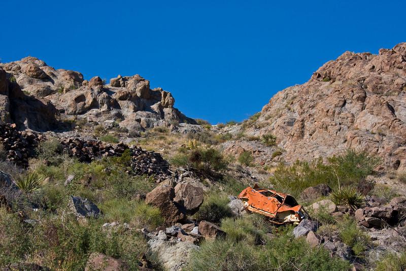 Oops, kinda missed that switchback-Near Oatman, Arizona