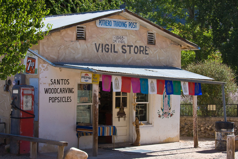 Source of our St. Francis Santo-Chimayo, New Mexico