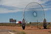 World's Largest Dream Catcher-Meteor City, Arizona