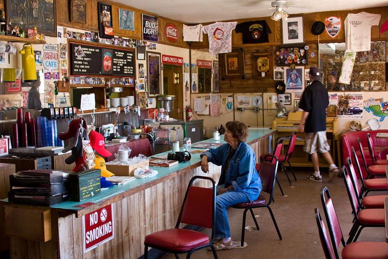 Bagdad Cafe Interior