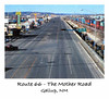 ROUTE 66 - THE MOTHER ROAD<br /> Gallup, New Mexico<br /> <br /> These next four shots are shots I took during my forced stay in Gallup, NM due to car trouble. I printed out some photo sheets to send to my folks and it's a good thing, too, as somehow I lost the entire batch of files of the trip. (Welcome to Doug's early computer days.) Fortunately, I came across the photos sheets and was able to scan the images -- done on plain copy paper -- and save them for posterity. Unfortunately, they came out with this grainy Polaroid look to them, so I went into Photoshop and made Polaroids out of them to give them the proper feel. I think it works.