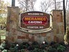 MERAMEC CAVERNS WELCOME SIGN<br /> Meramec Caverns, Stanton, Missouri