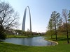 ST LOUIS GATEWAY ARCH<br /> Jefferson National Expansion Memorial (NPS), St Louis, Missouri