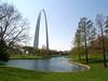 ST LOUIS GATEWAY ARCH<br /> Jefferson National Expansion Memorial (NPS), St Louis, Missouri