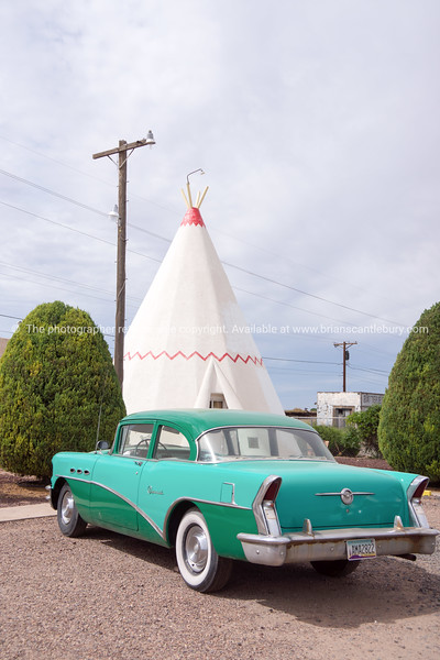 Wigwam Motel, Holbrook, Arizona,  USA.