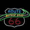 Neon sign Tucumcari, Route 66, New Mexico, USA. Another  of incredible variety of 66 signs seen along the historic route