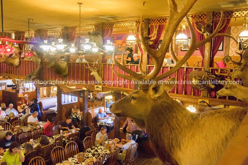 The Big Texan Steakhouse, famous restaurant Amarillo, Texas, USA