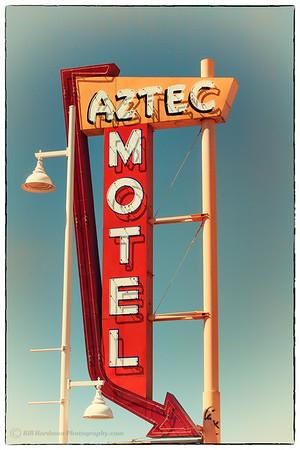 Aztec Motel on Route 66 in Albuquerque, NM