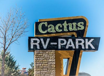 Cactus RV Park on Route 66 in Tucumcari, NM
