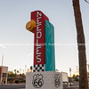 Signs at Needles, California, USA