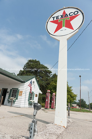 Texaco garage restored at Dwight, Illinois, USA.dng