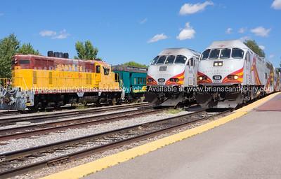 Santa Fe Railway, New Mexico, USA