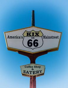 Coffee Shop on Route 66 in Tucumcari, NM