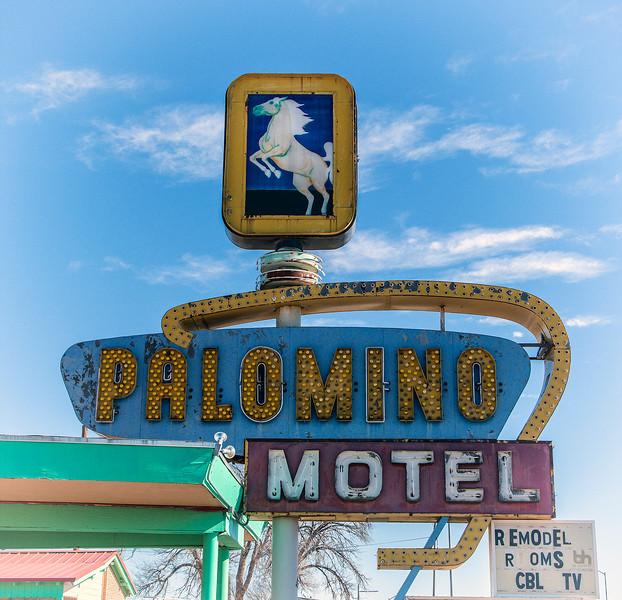 Palomino Motel on Route 66 in Tucumcari, NM