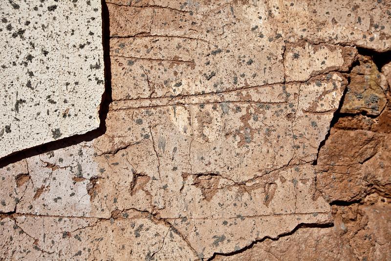 Textures in Winslow, AZ