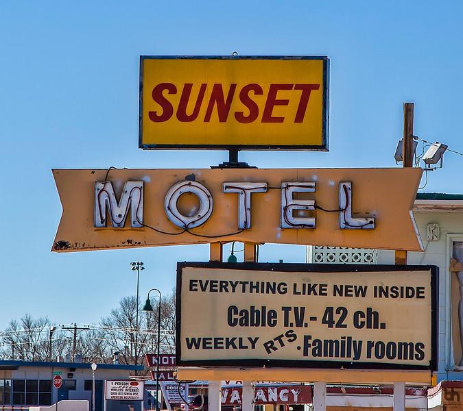 Sunset Motel in Santa Rosa, NM