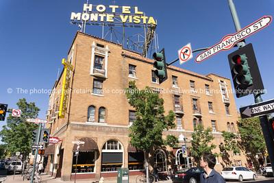 Hotel Monte Vista, Flagstaff, Arizona on Route 66.