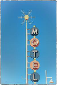 Motel on Route 66 in Albuquerque, NM