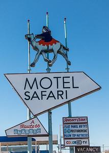 Motel Safari on Route 66 in Tucumcari, NM