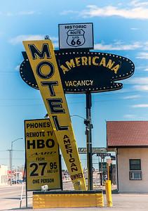 Americana Motel Route 66 in Tucumcari, NM