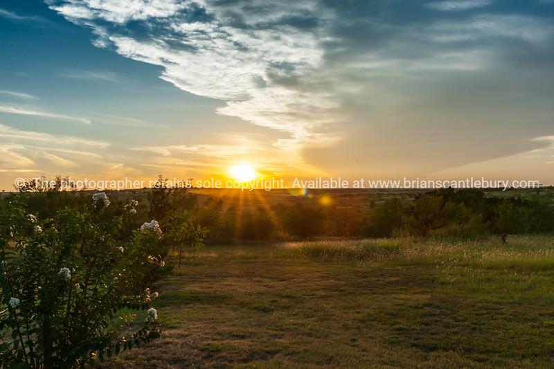 Texan sunset