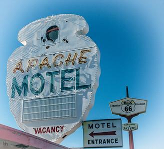 Apache Motel on Route 66 in Tucumcari, NM