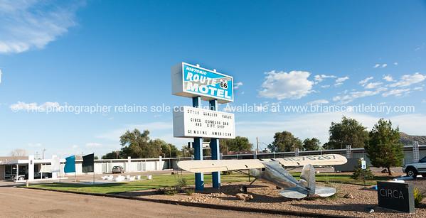 Tucumcari, Route 66 Motel, New Mexico, USA.