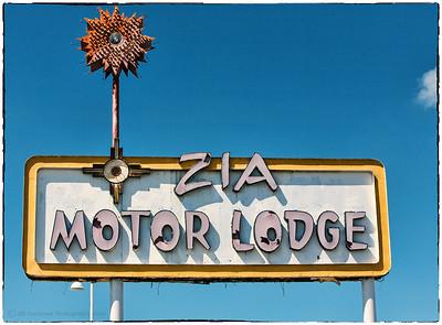 Zia Motor Lodge on Route 66  in Albuquerque, NM