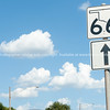 Oklahoma Route 66 state sign, Oklahoma on Route 66
