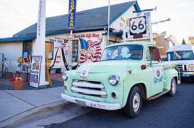 Angel & Vilma Delgadillo's Original Route 66 Gift Shop, Route 66, Seligman, Arizona, USA