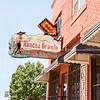 El Rancho Grande Mexican Food Restaurant, buidlings and street scenes Tulsa, Oklahoma on Route 66.
