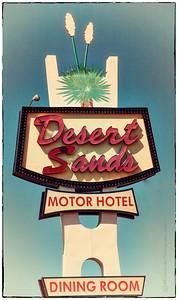 Desert Sands Motor Hotel on Route 66 in Albuquerque, NM