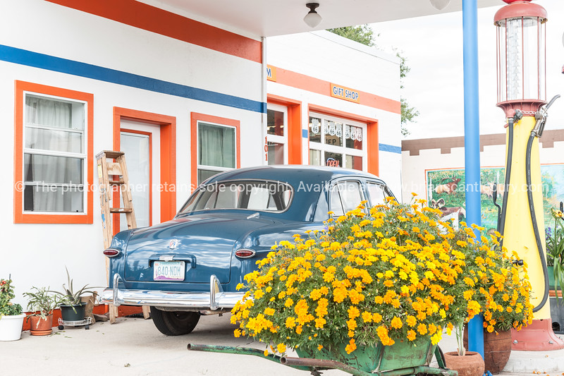 Pete's Gas Station Museum in Williams Arizona on Route 66.