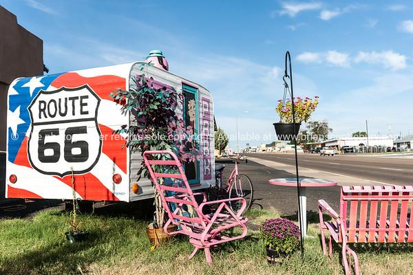 Tucumcari, Route 66, New Mexico, USA.