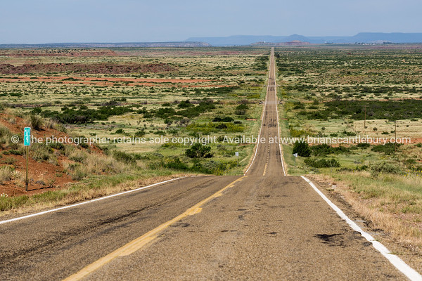 New Mexico, Route 66 at 58 mile marker, New Mexico, USA.