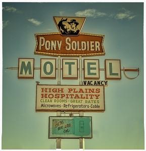 Pony Soldier Motel on Route 66 in Tucumcari, NM