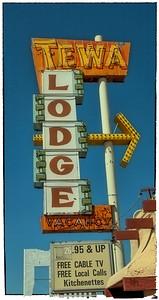 Tewa Lodge on Route 66 in Albuquerque, NM