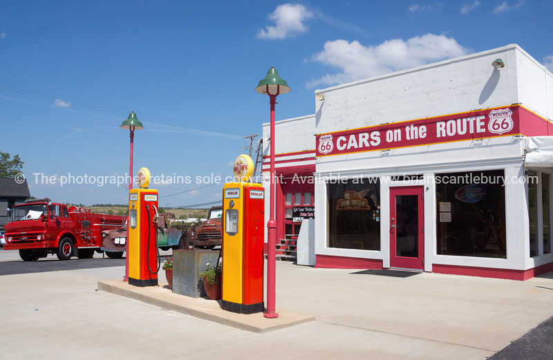 From the movie; Cars, on Route 66, Kansas USA