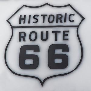 Route 66 signage