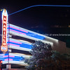 Urban neon signs and lighting, downtown Amarillo, Texas, USA