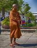 Monk at Royal Palace grounds (HDR)