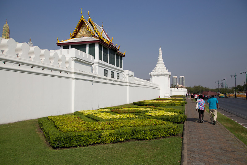 The Eastern Wall of the Grand Palace
