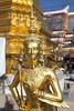 Statue of a kinnara in Wat Phra Kaew